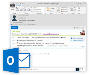 Crelate for Outlook