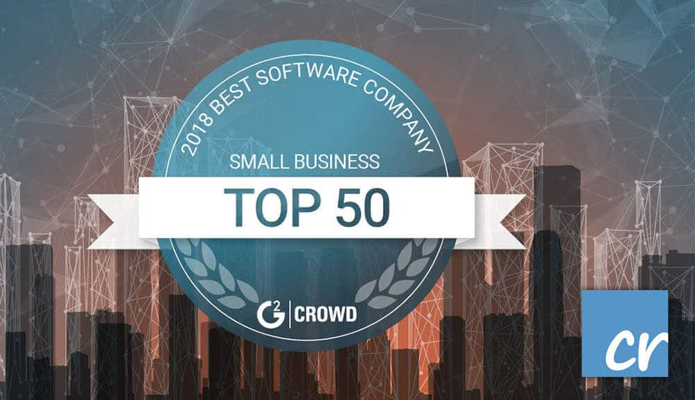 G2Crowd Award for Crelate