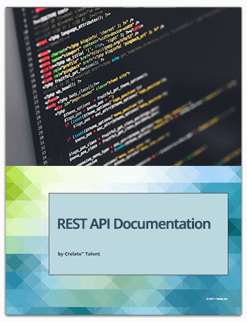 Crelate API Docs Cover