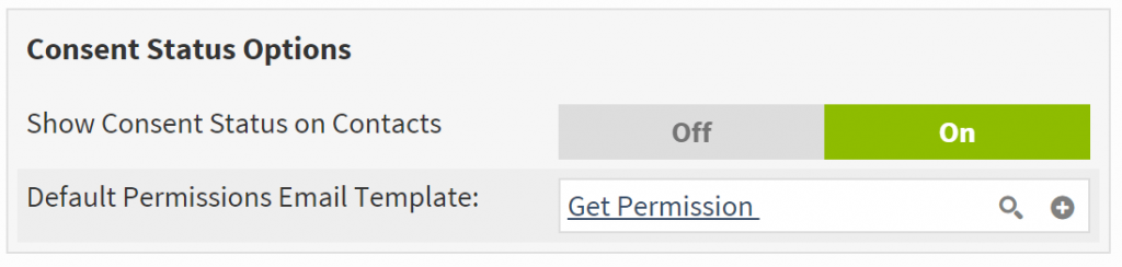 Crelate ATS GDPR Consent Options Feature