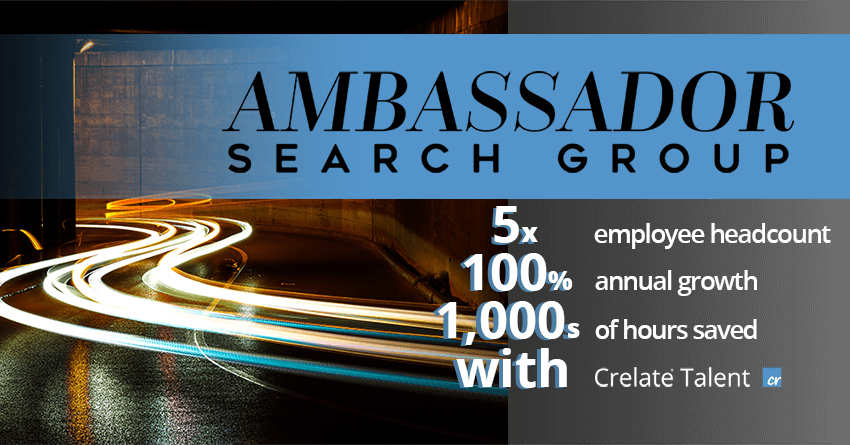 Customer Case Study: Recruiting Firm Grows 5x Headcount with Crelate's Recruiting CRM and ATS Solution