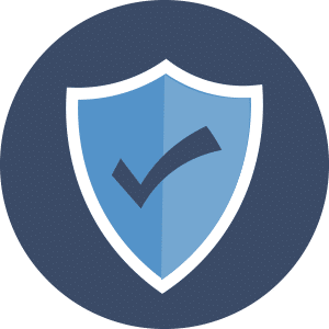 Shield depicting Reliable Applicant Tracking with No Down Time