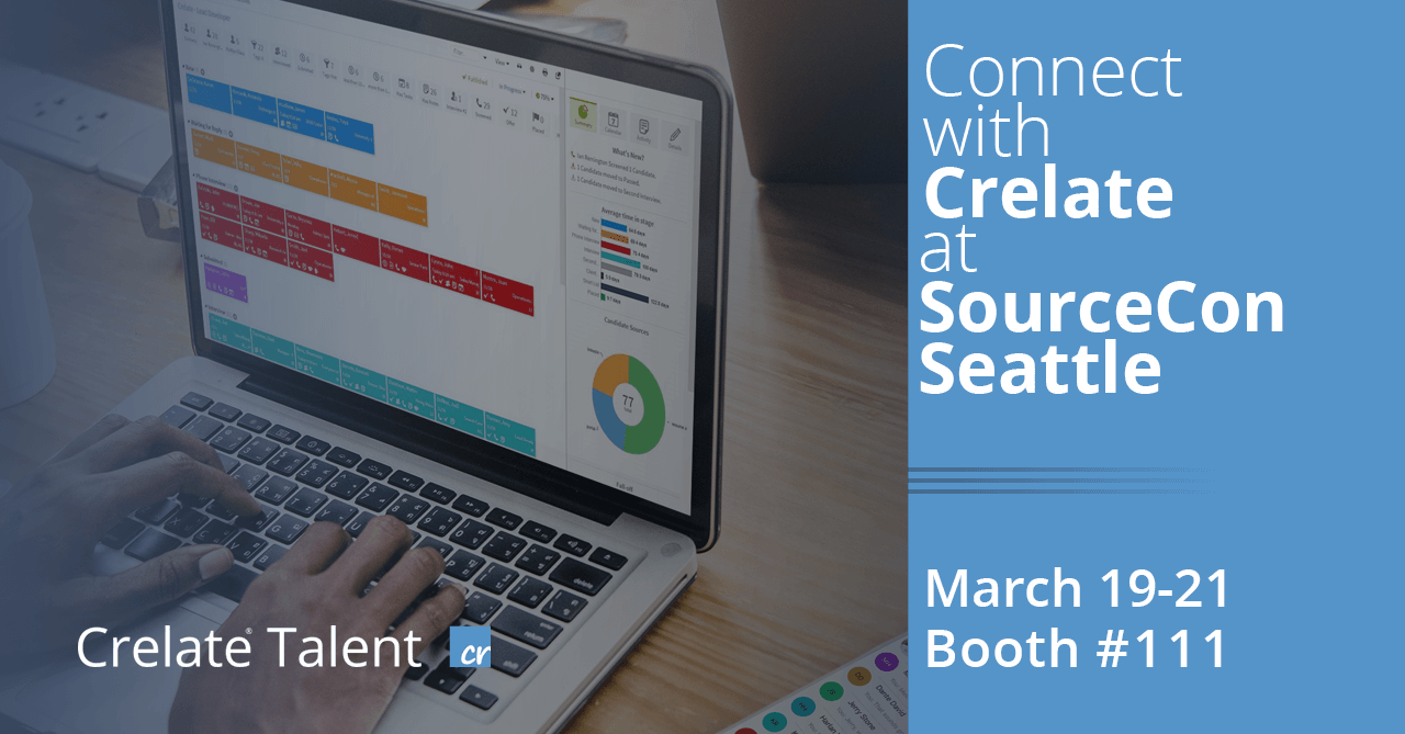 Crelate Brings Innovative Recruiting Solutions to SourceCon Seattle 2019