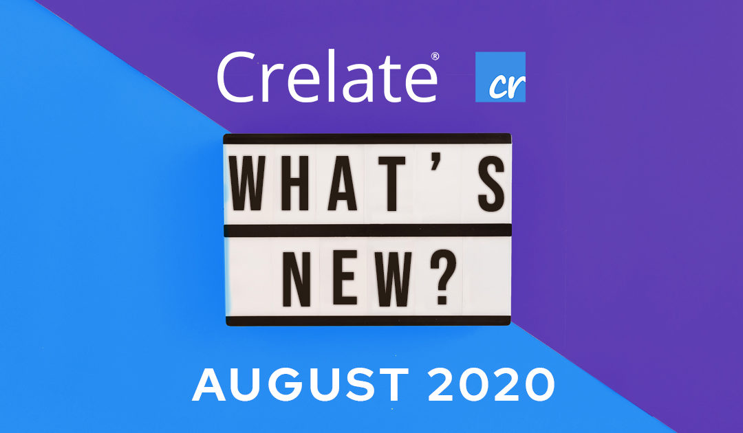 What's New – Crelate Release 2.24