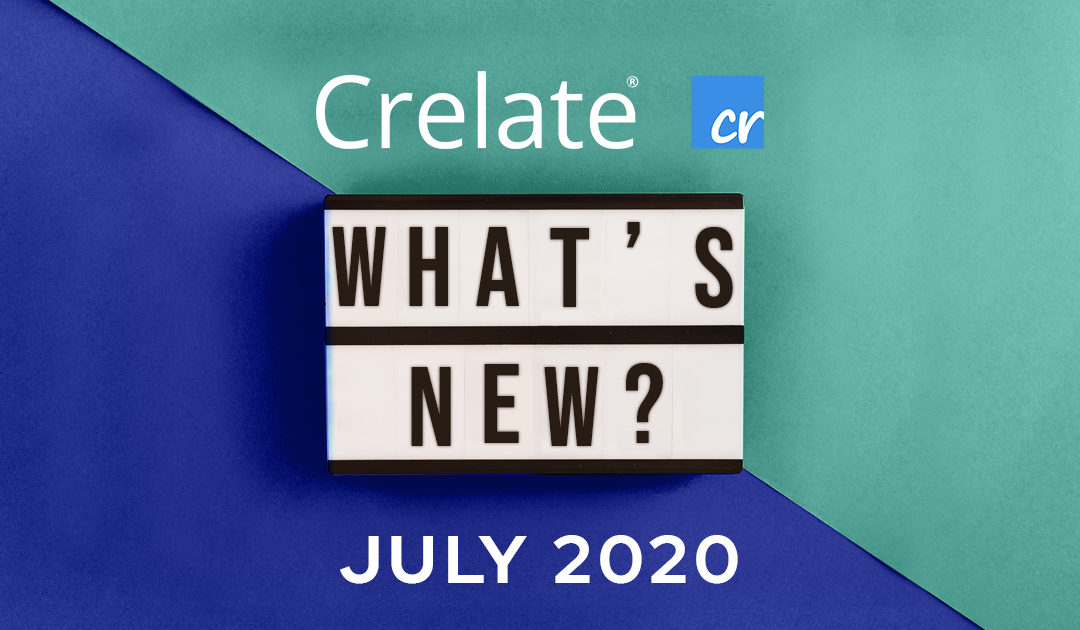 What's New – Crelate Release 2.23