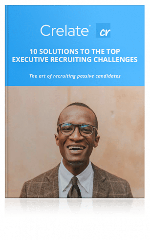 """A book titled """"10 Solutions To The Top Executive Recruiting Changes"""""""