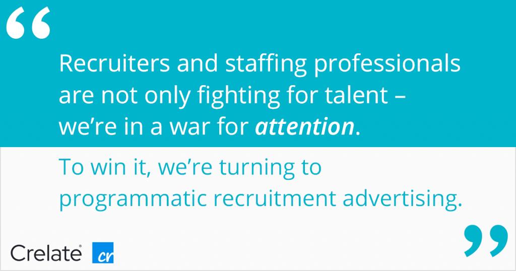 Programmatic Recruitment Advertising