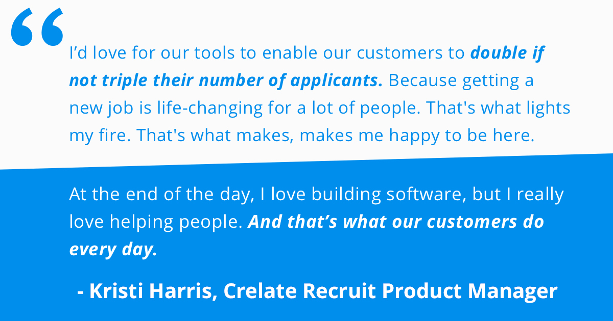 Crelate Recruit Customers