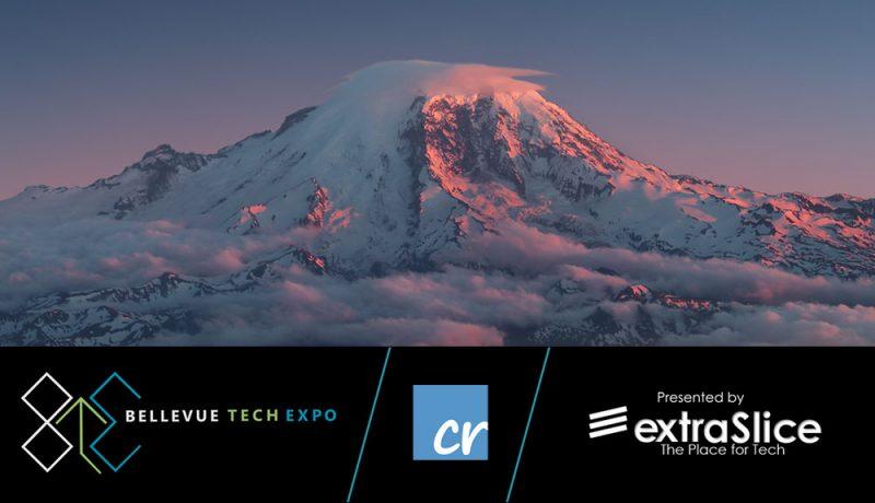 Crelate Bellevue Tech Expo Logo Mt Rainer