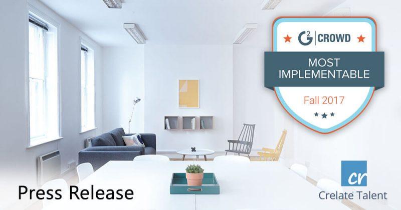 Crelate Implementation Index Award
