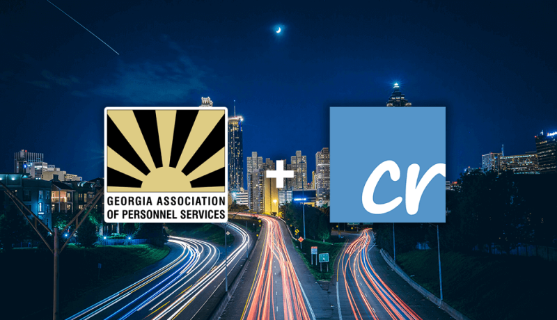 Picture of Atlanta, GAPS Logo and Crelate Logo