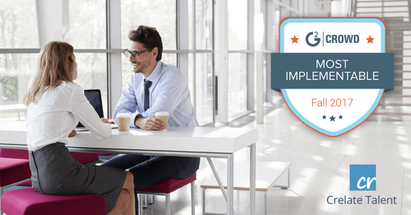G2Crowd Most Implementable ATS Award