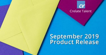 Crelate September Product Release