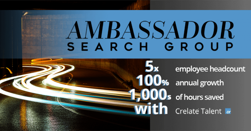 Customer Grows 5x using Crelate Recruiting Software Solution