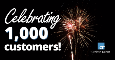 Crelate Reaches 1000 Customers